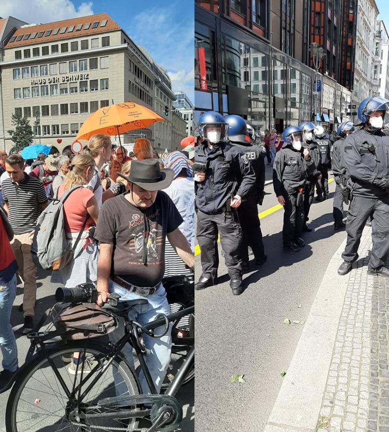 Demo Berlin Anzahl